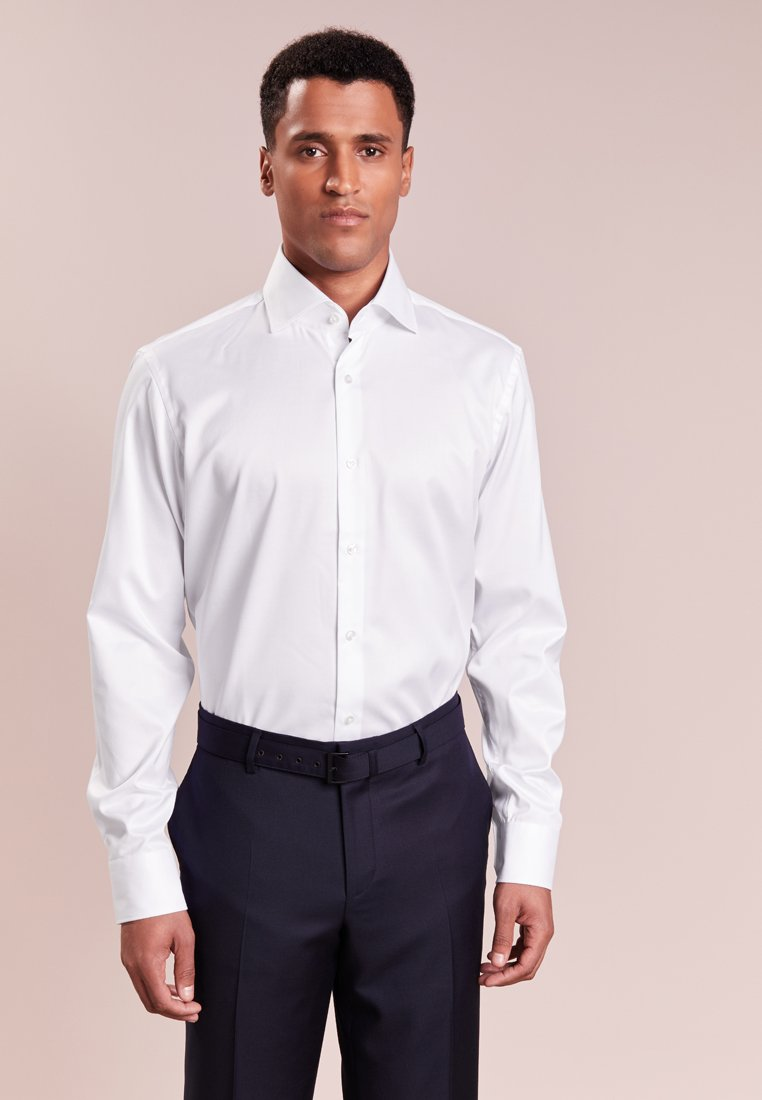 HUGO - VERALD REGULAR FIT - Camicia elegante - white