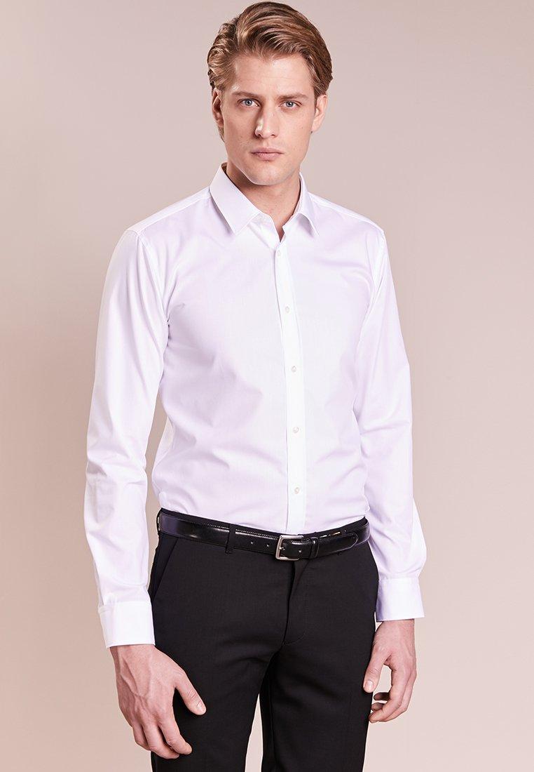 HUGO - ELISHA - Koszula biznesowa - white