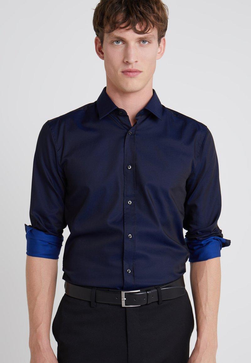HUGO - ELISHA EXTRA SLIM FIT - Koszula biznesowa - navy