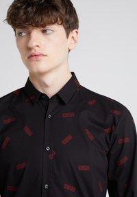 HUGO - ERO EXTRA SLIM FIT - Shirt - black - 4