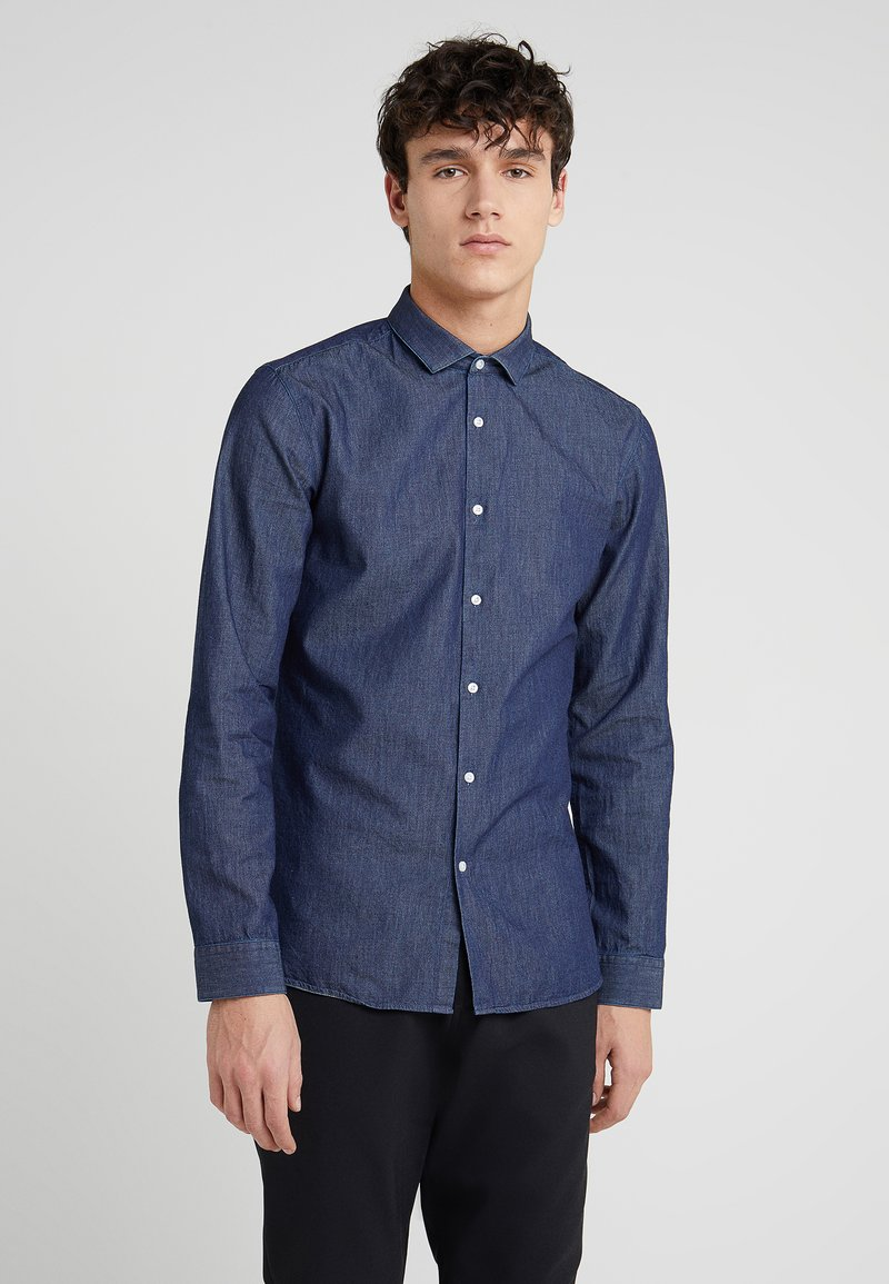 HUGO - ERONDO - Shirt - dark blue