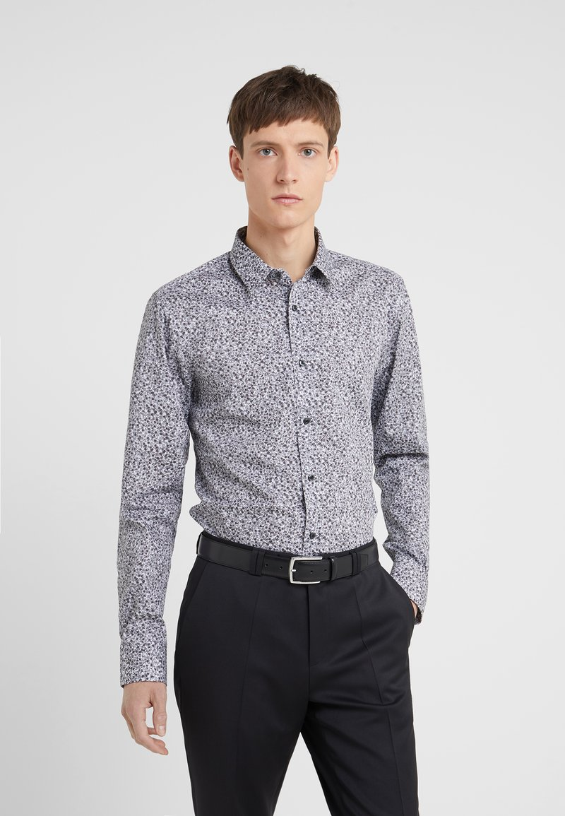 HUGO - ELISHA EXTRA SLIM FIT - Formal shirt - open grey