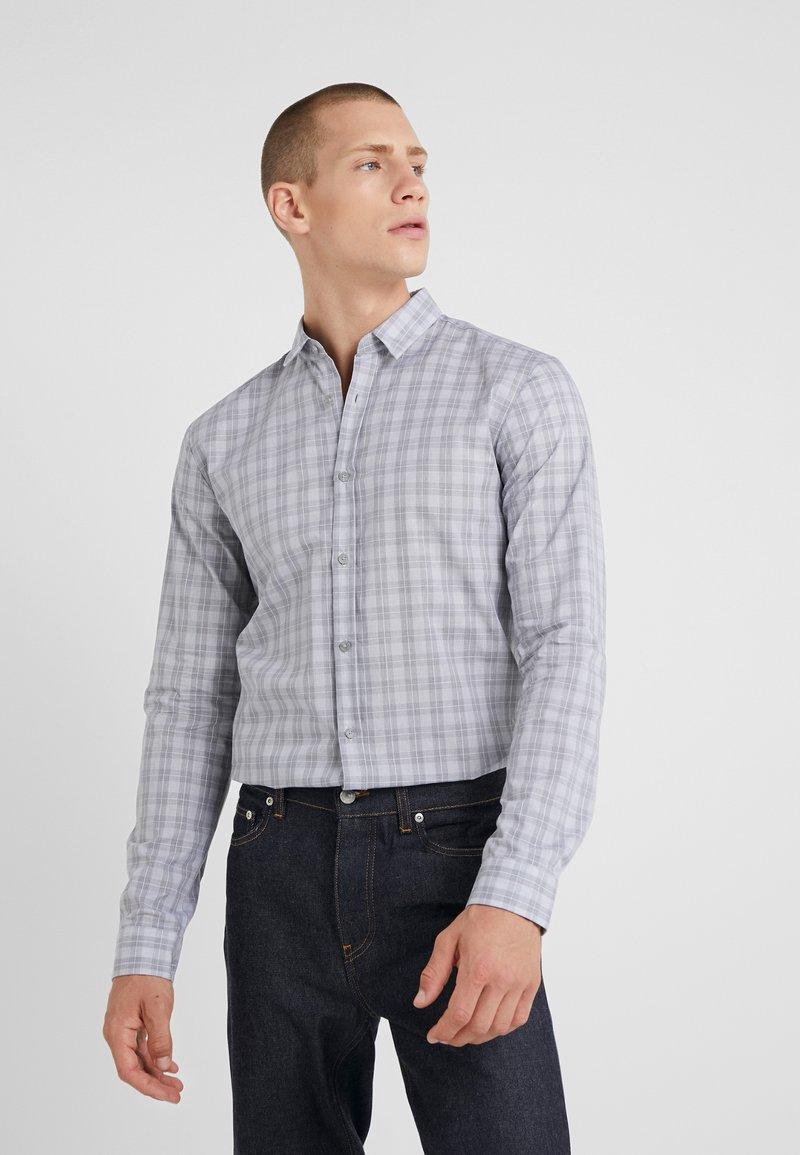 HUGO - ERO EXTRA SLIM FIT - Shirt - open grey