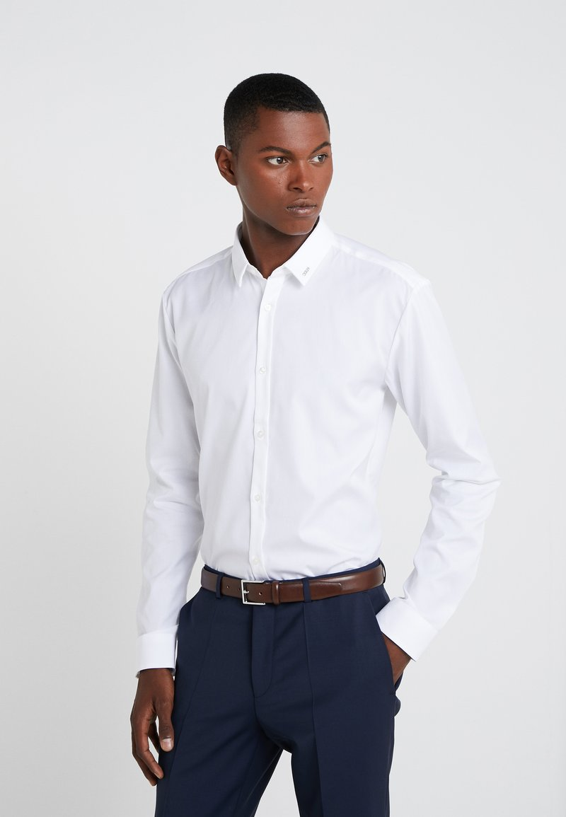 HUGO - ERO EXTRA SLIM FIT - Camisa elegante - open white