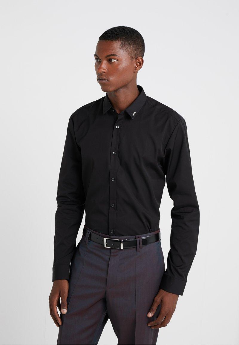HUGO - ERO EXTRA SLIM FIT - Businesshemd - black