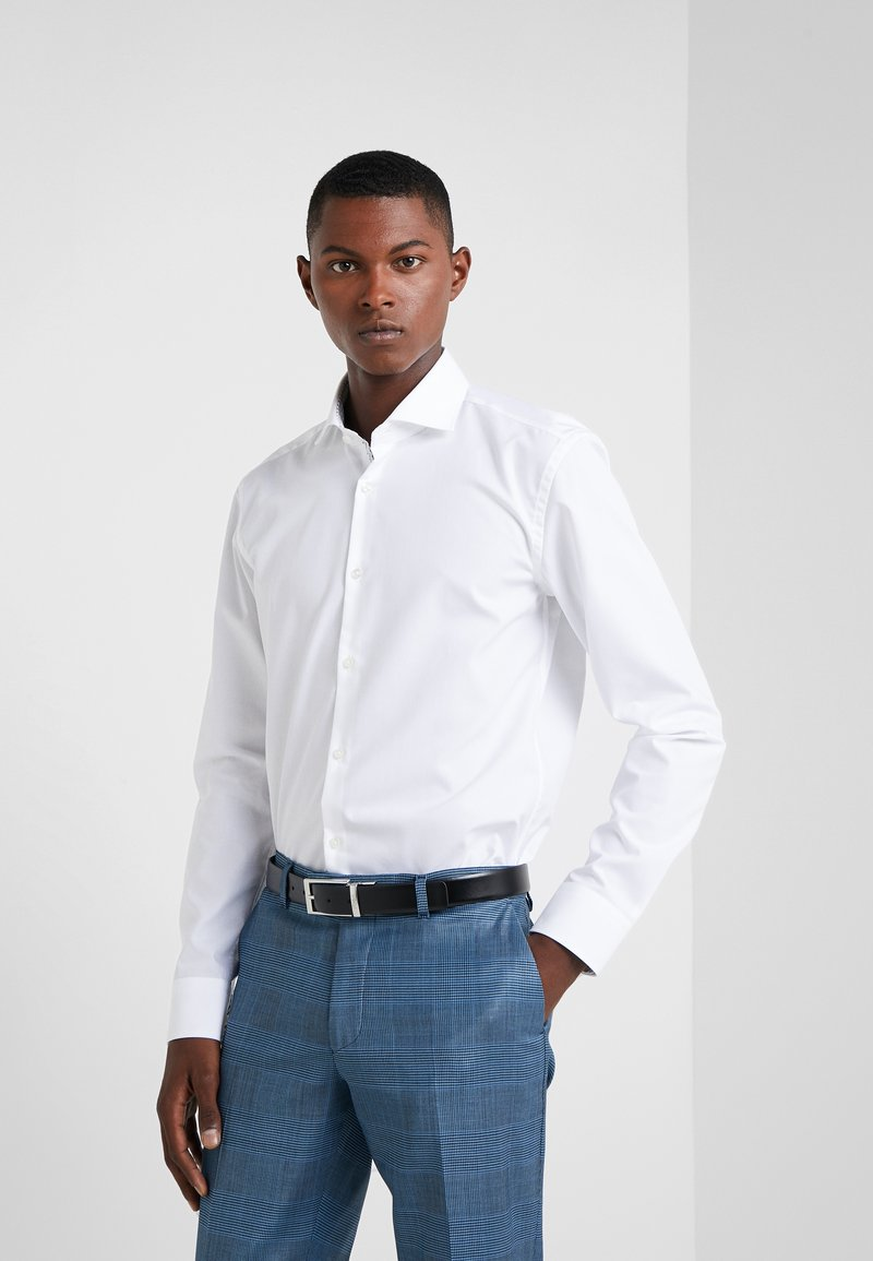 HUGO - KERY SLIM FIT - Camisa elegante - open white