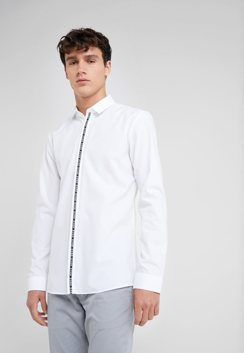 HUGO - ED EXTRA SLIM FIT - Camisa - open white