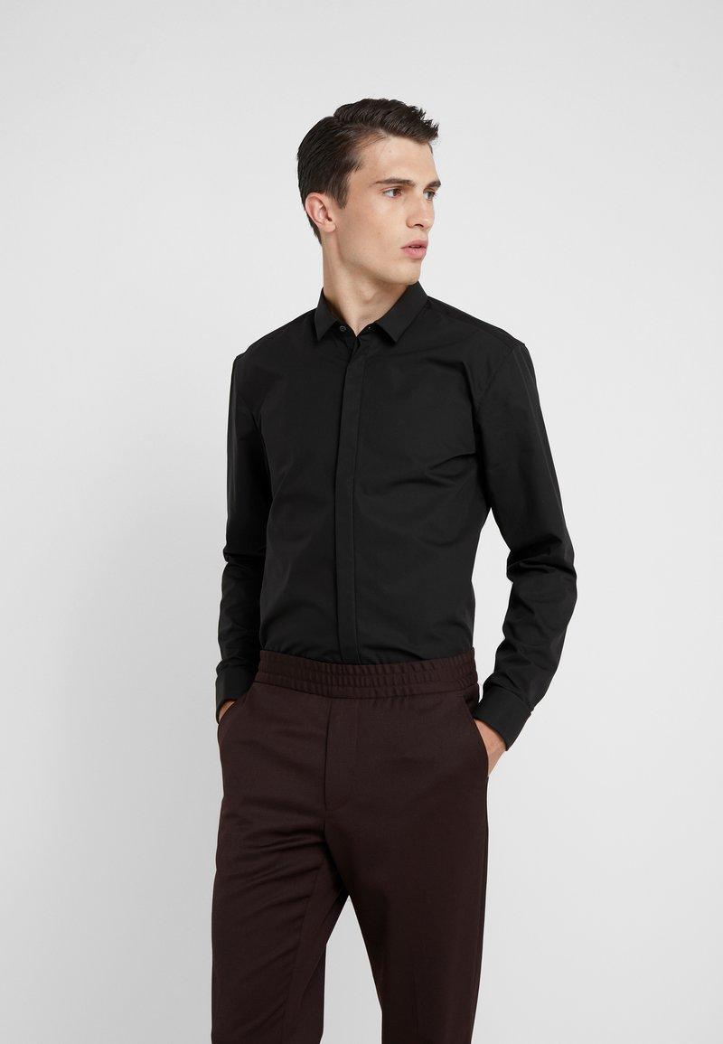HUGO - EJINAR EXTRA SLIM FIT - Zakelijk overhemd - black