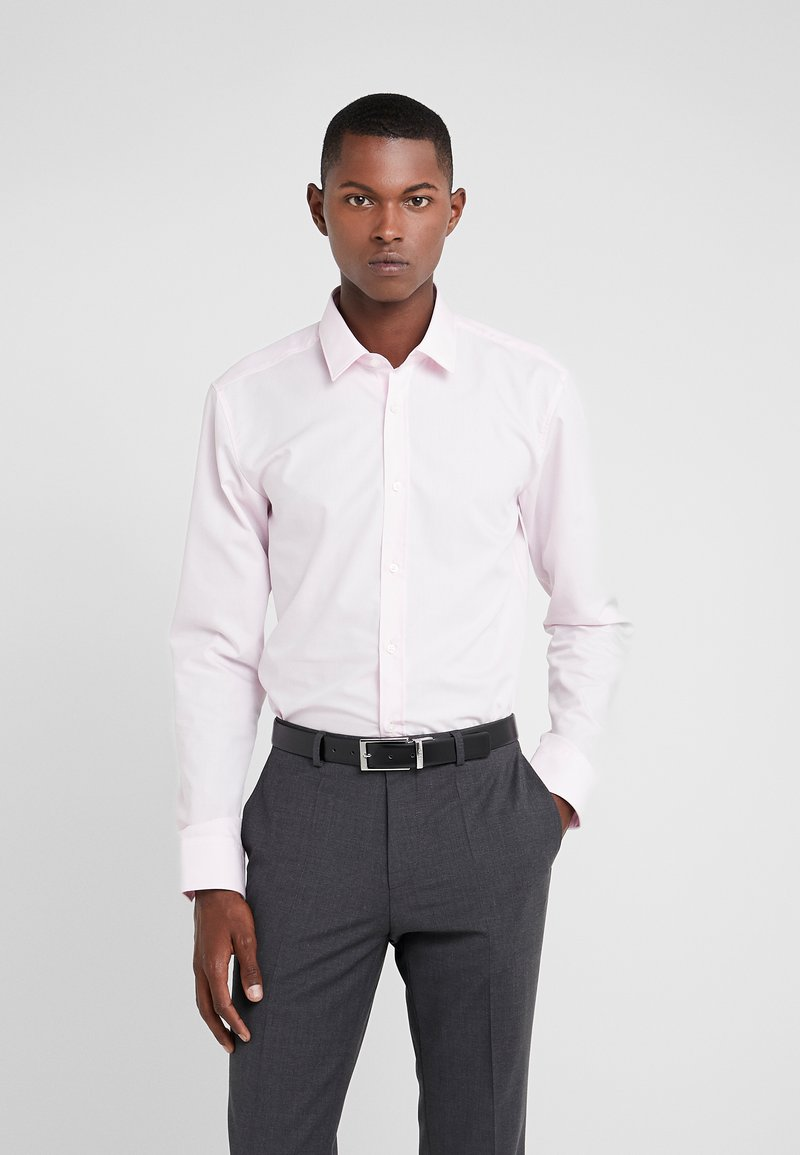 HUGO - ELISHA EXTRA SLIM FIT - Formal shirt - rosa