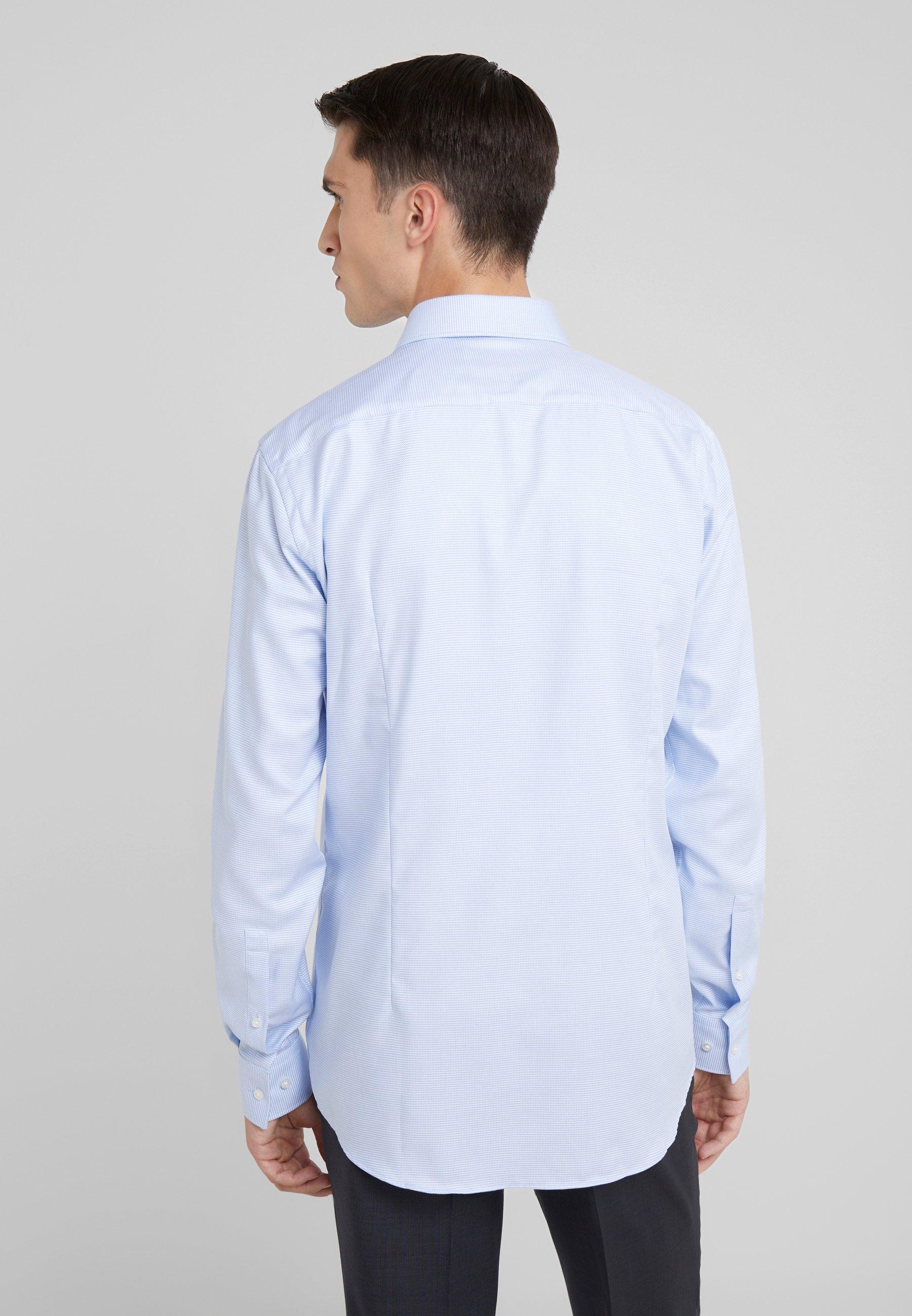 Pastel Hugo Classique Kason Light Slim FitChemise Blue WHIDE29Y