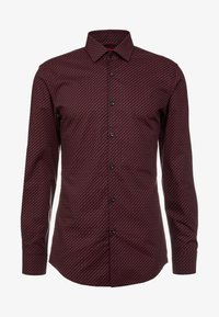 HUGO - KENNO SLIM FIT - Camisa elegante - black/red - 3