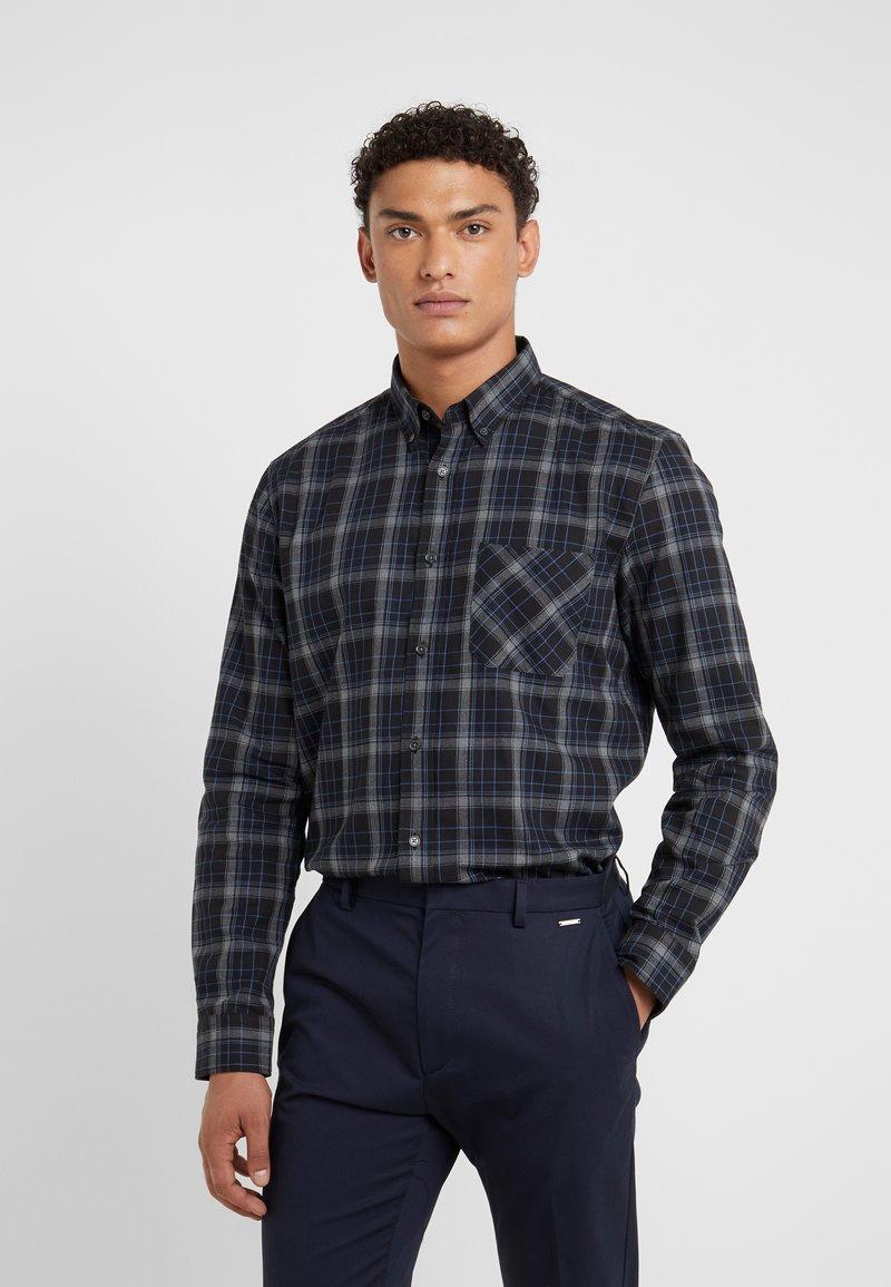 HUGO - ERMANN - Skjorter - blue/black