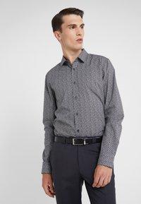 HUGO - ELISHA EXTRA SLIM FIT - Formal shirt - black - 0