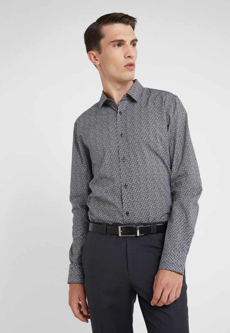 HUGO - ELISHA EXTRA SLIM FIT - Formal shirt - black