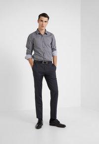 HUGO - ELISHA EXTRA SLIM FIT - Camisa elegante - black - 1