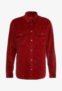 HUGO - ENVER - Shirt - rust/copper - 4