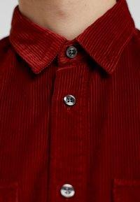 HUGO - ENVER - Shirt - rust/copper - 3