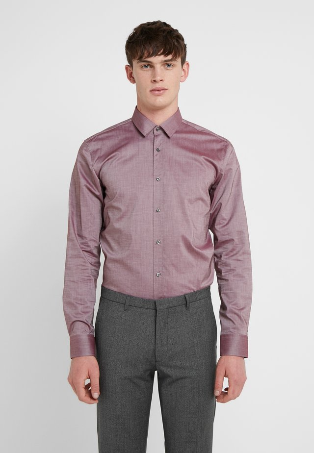 ELISHA EXTRA SLIM FIT - Formal shirt - dark red