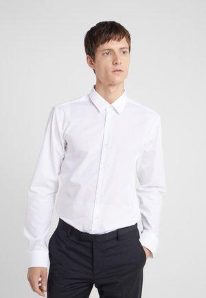 ELISHA SLIM FIT - Kostymskjorta - white