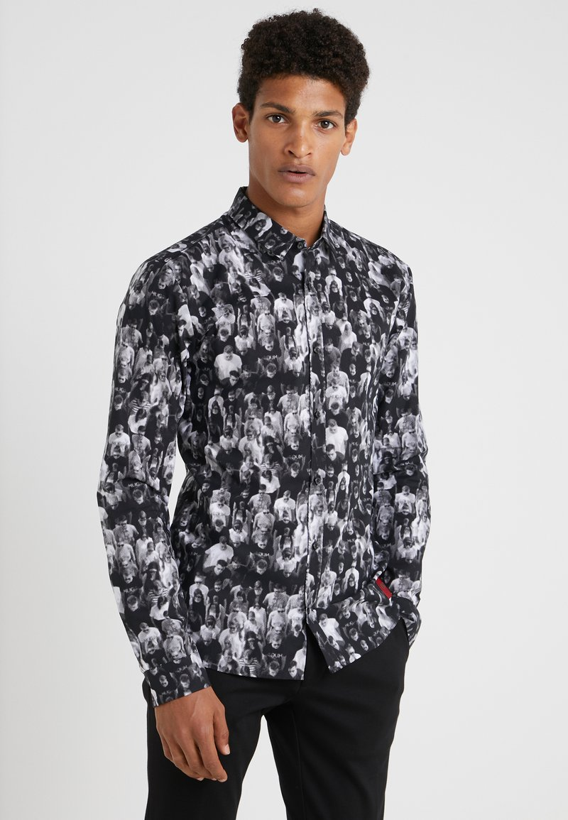 HUGO - Shirt - black