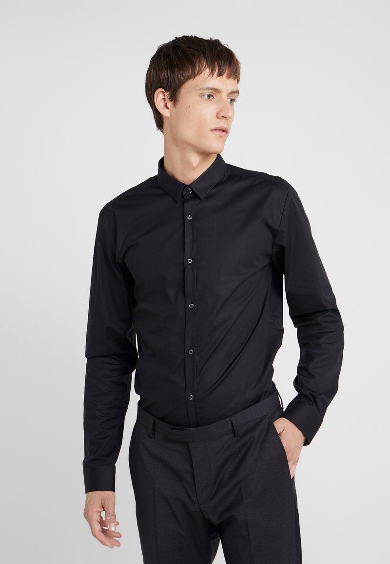 HUGO - ERO EXTRA SLIM FIT - Zakelijk overhemd - black