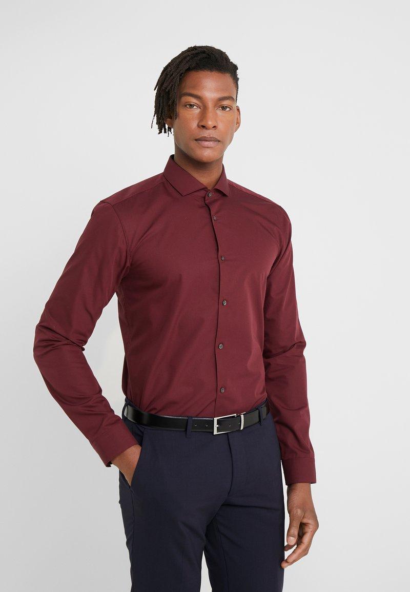 HUGO - ERRIKO EXTRA SLIM FIT - Formal shirt - dark red