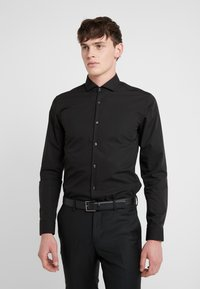 HUGO - ERRIKO EXTRA SLIM FIT - Formal shirt - black - 0