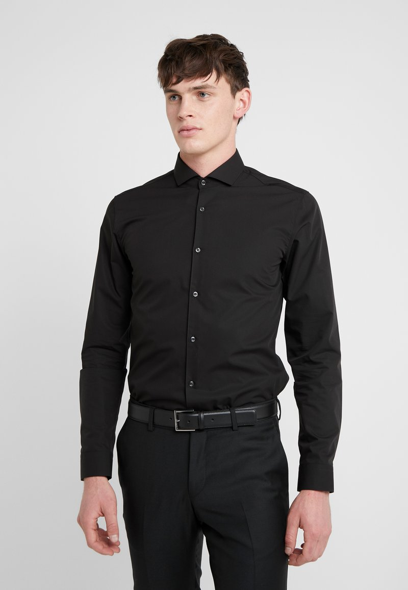 HUGO - ERRIKO EXTRA SLIM FIT - Formal shirt - black