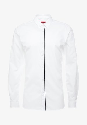 EMILIONN EXTRA SLIM FIT - Finskjorte - open white