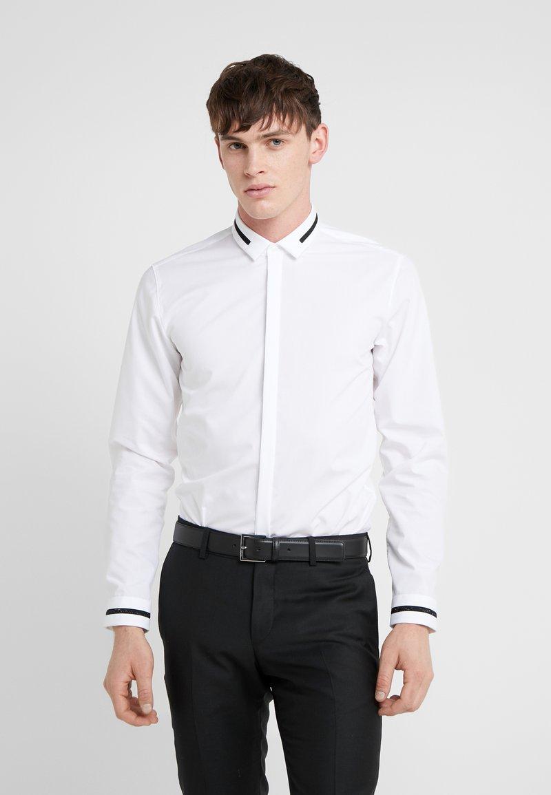 HUGO - ELOY EXTRA SLIM FIT - Camicia - open white