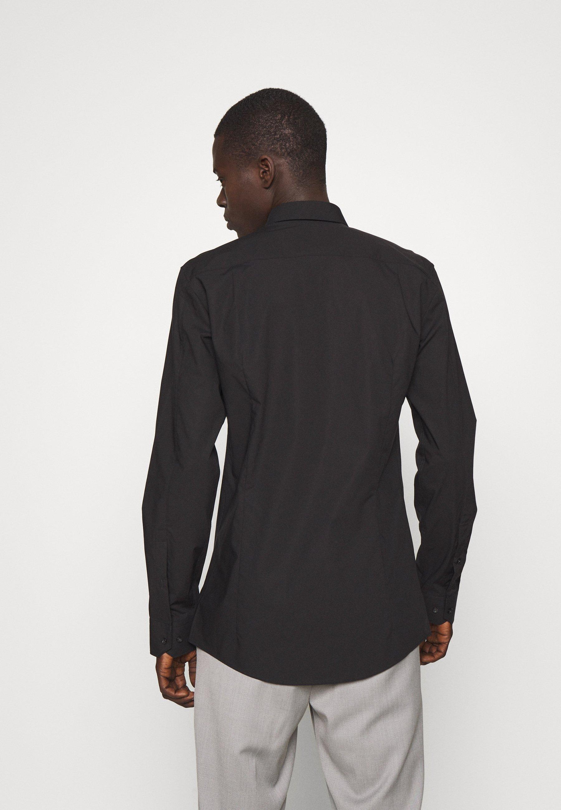 Hugo Elisha - Kostymskjorta Black