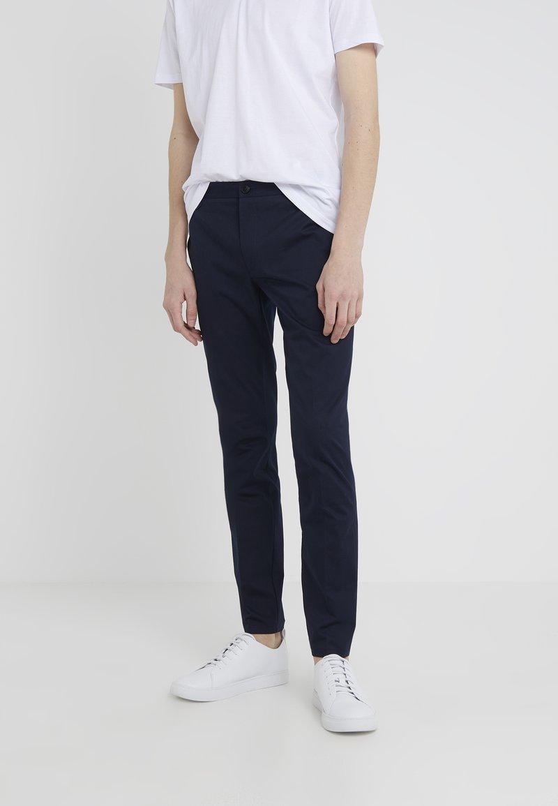 HUGO - HELDOR - Spodnie materiałowe - navy