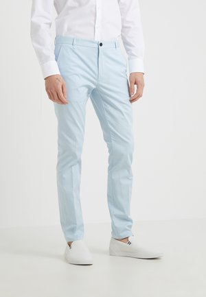 HELDOR - Spodnie materiałowe - light pastel blue