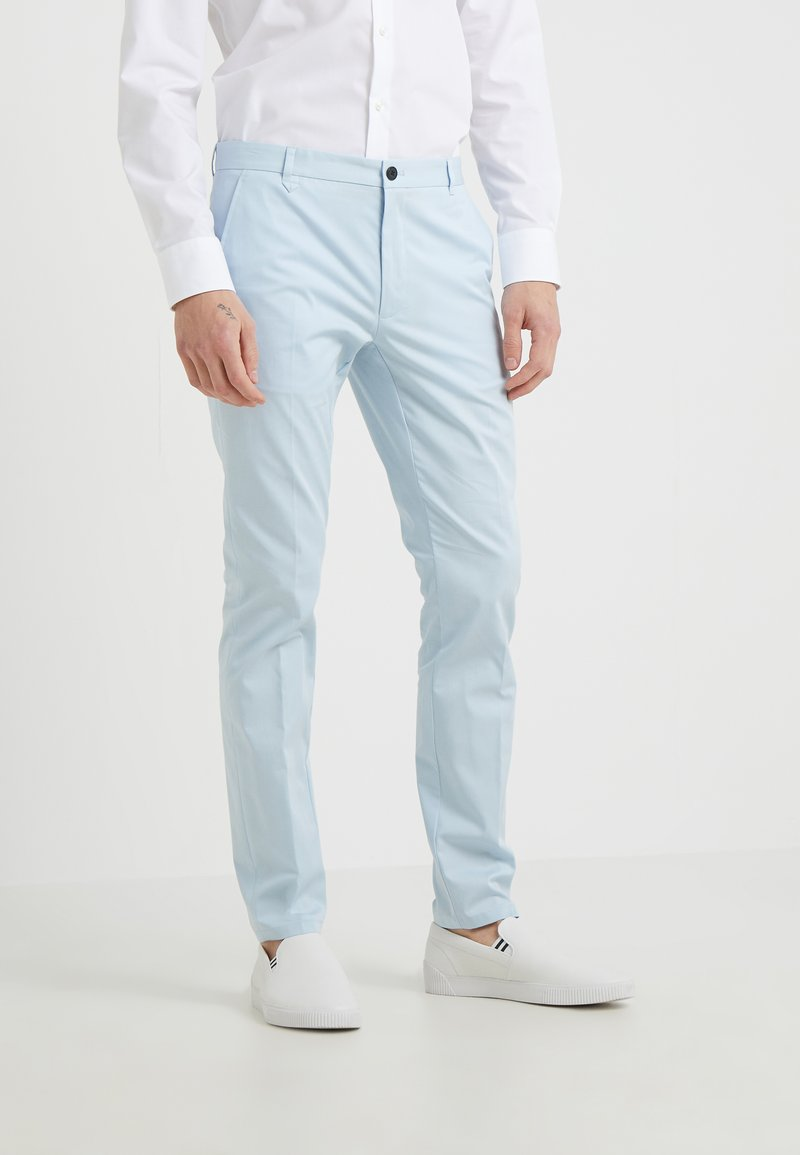 HUGO - HELDOR - Trousers - light pastel blue