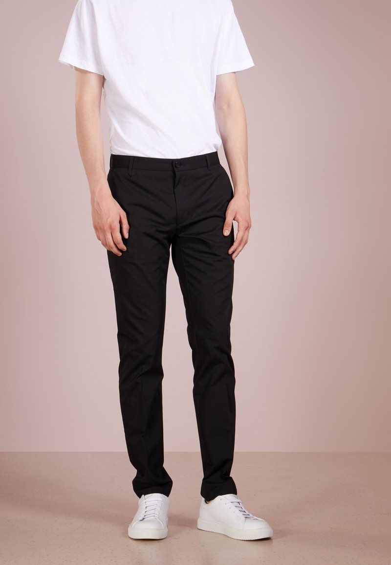 HUGO - HELDOR - Trousers - black