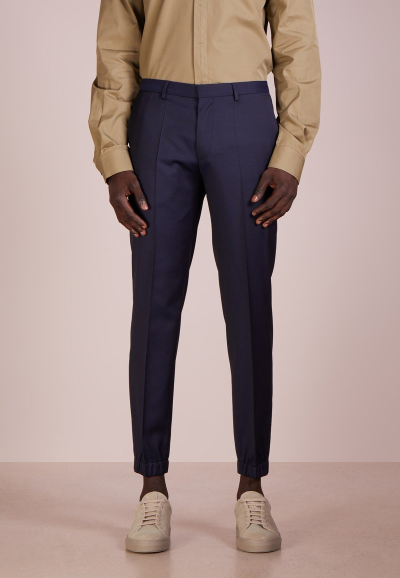 HUGO - TAYLOR - Suit trousers - dark blue