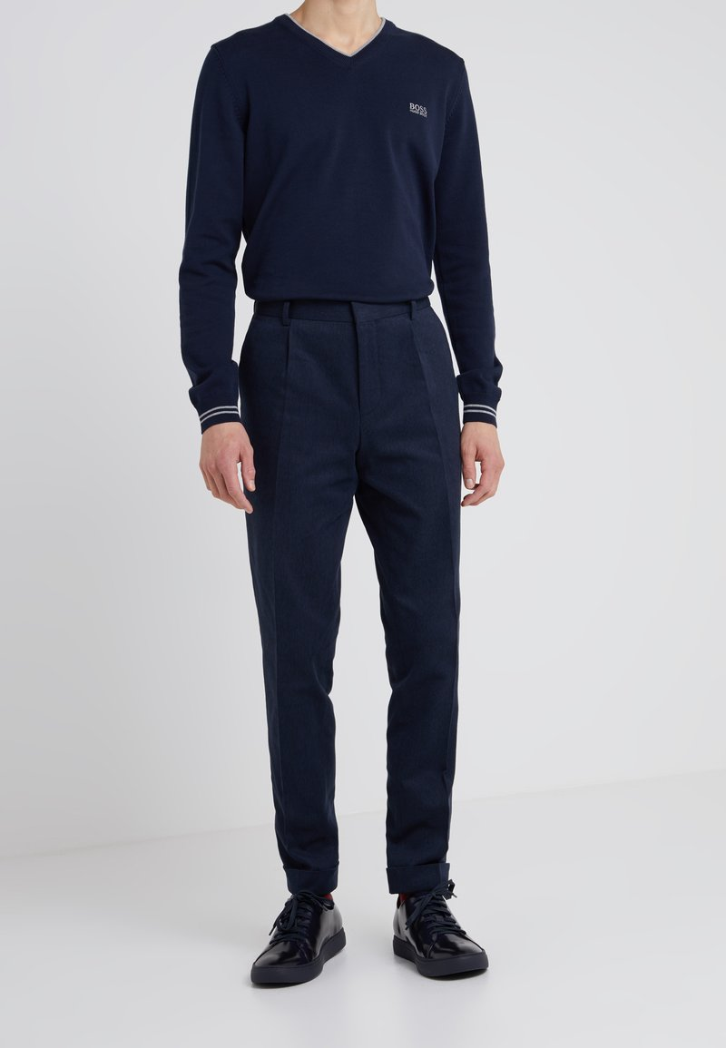 HUGO - GABRIEL - Trousers - blue