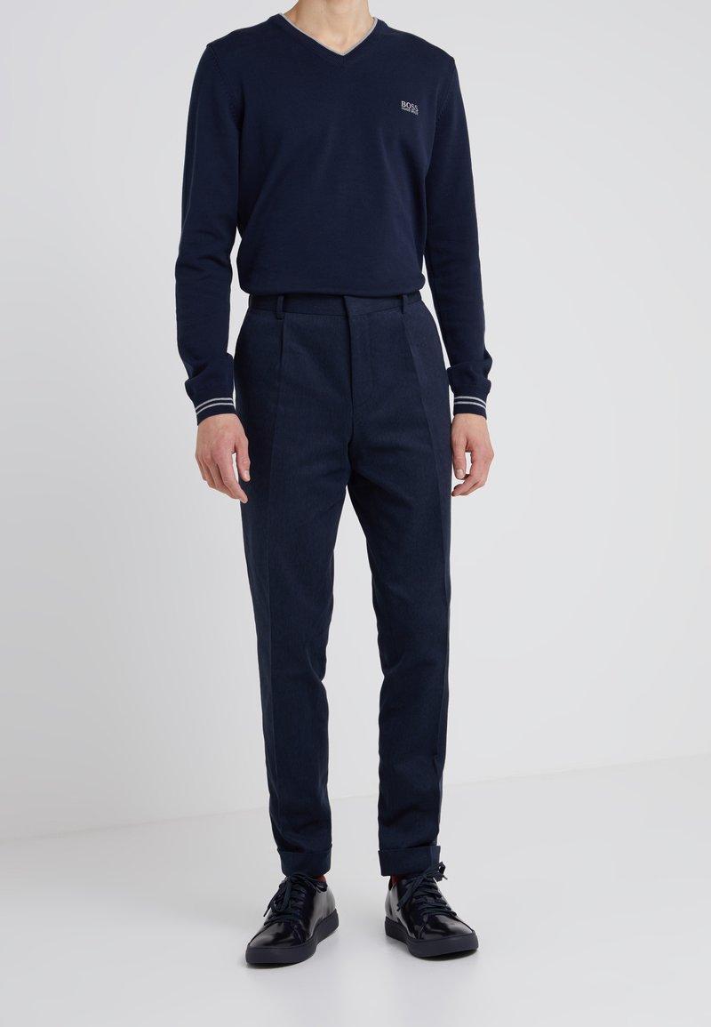 HUGO - GABRIEL - Pantalon classique - blue