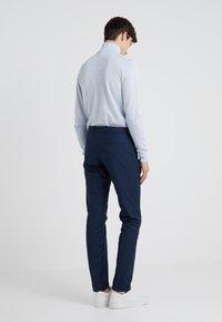 HUGO - HELDOR - Spodnie materiałowe - dark blue - 2