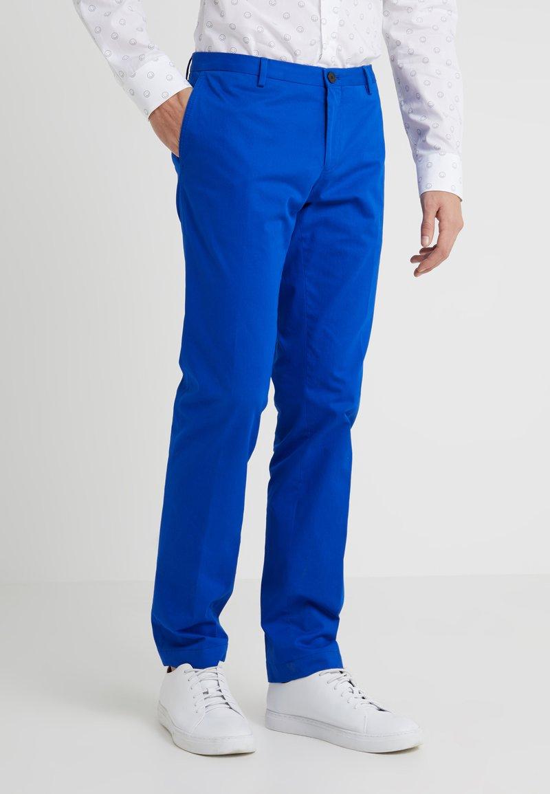 HUGO - GERALD - Chino kalhoty - medium blue
