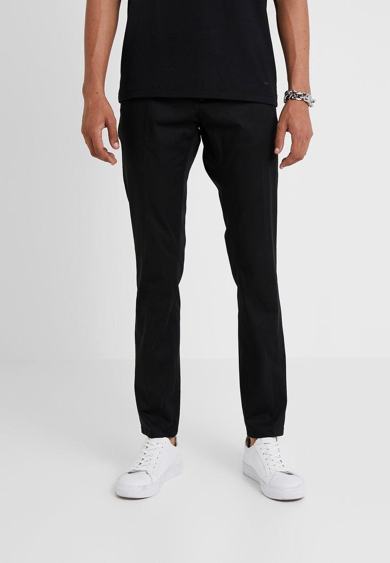 HUGO - GLEN - Chino kalhoty - black