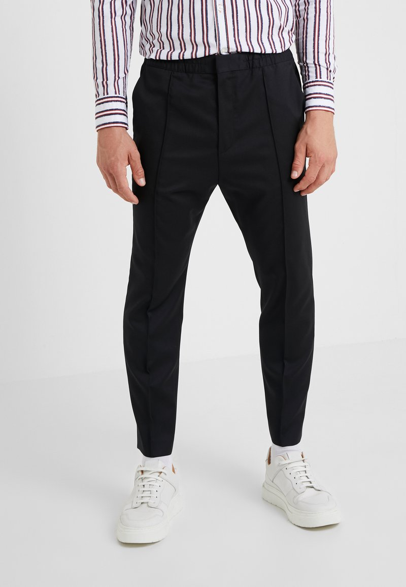 HUGO - HARLYS - Pantalones - black