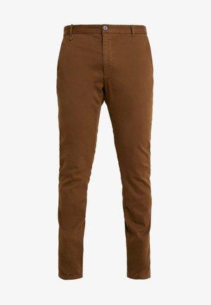 HELDOR - Pantalones chinos - medium brown