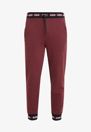 DOAK - Tracksuit bottoms - dark red