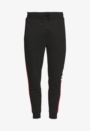 DEGER  - Teplákové kalhoty - black