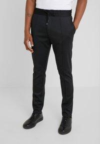 HUGO - ZENNET - Kalhoty - black - 0