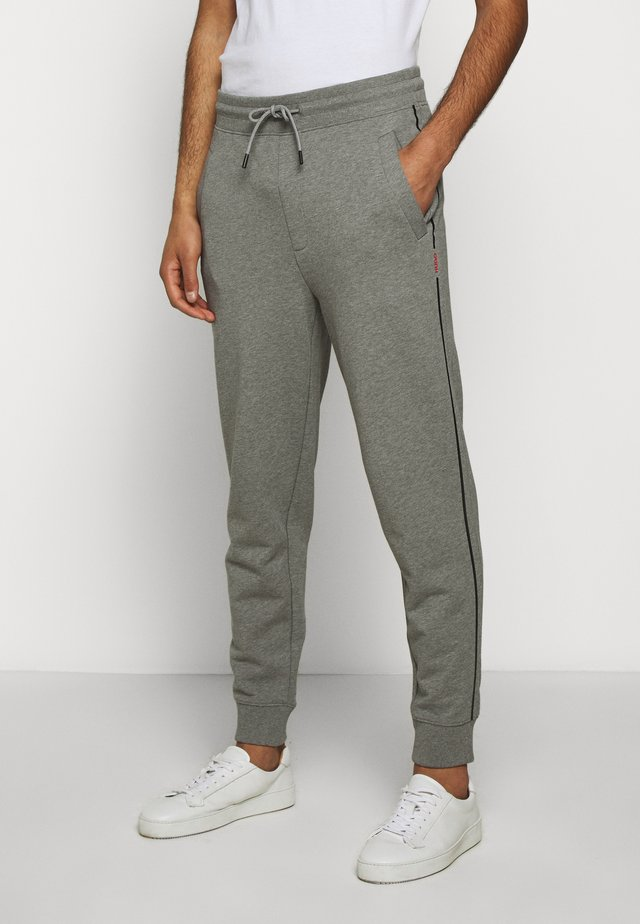 DOAKY - Tracksuit bottoms - open grey