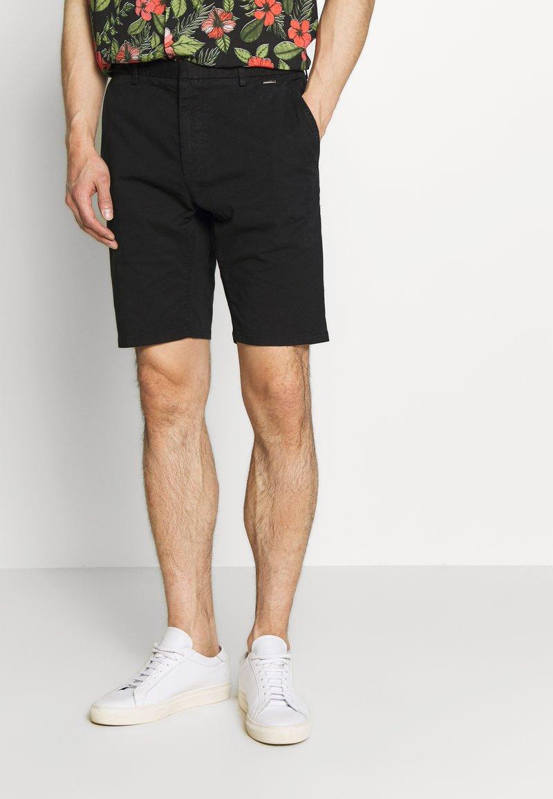 HUGO - GLEN - Shorts - black