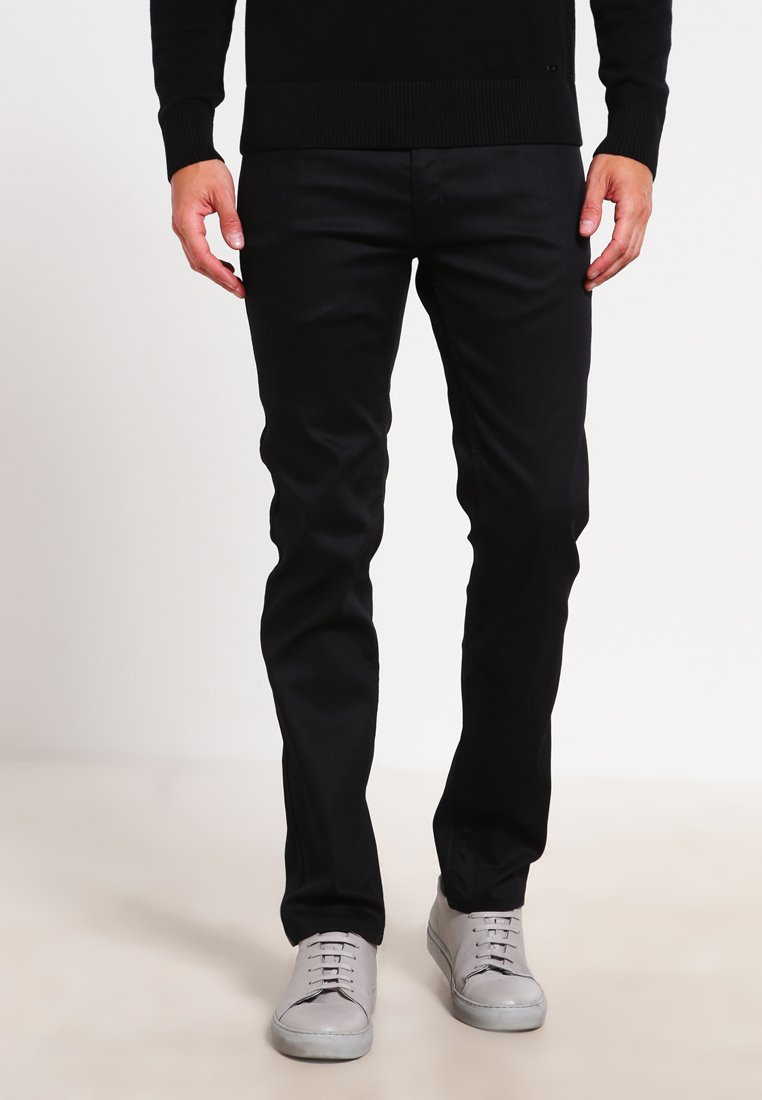 HUGO - Slim fit -farkut - black