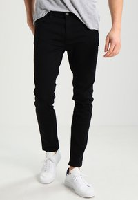 HUGO - Jeansy Slim Fit - black - 0